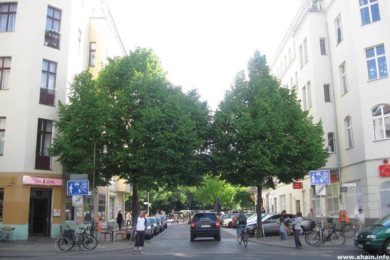 Eisenbahnstraße Ecke Muskauer Straße (Sparkasse)