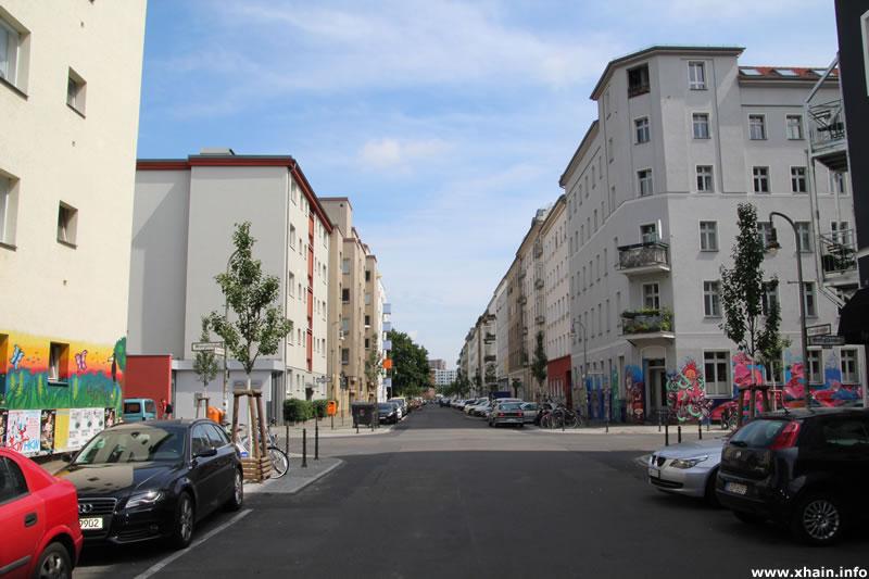Eisenbahnstraße Ecke Wrangelstraße