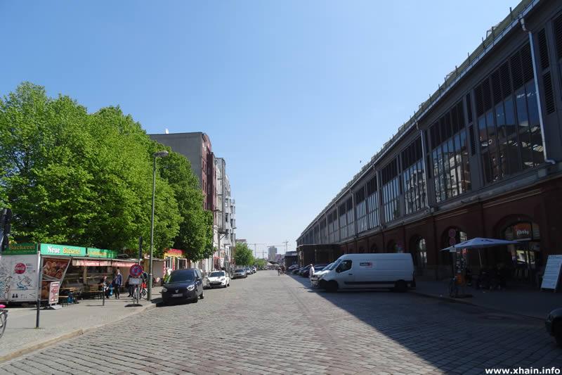 Erich-Steinfurth-Straße am Ostbahnhof