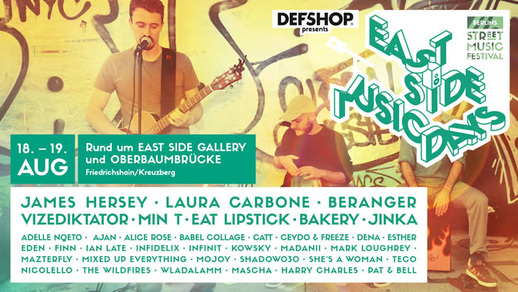 East Side Music Days 2018