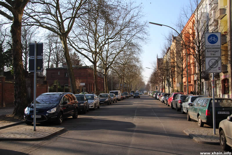 Fahrradstraße Bergmannstraße