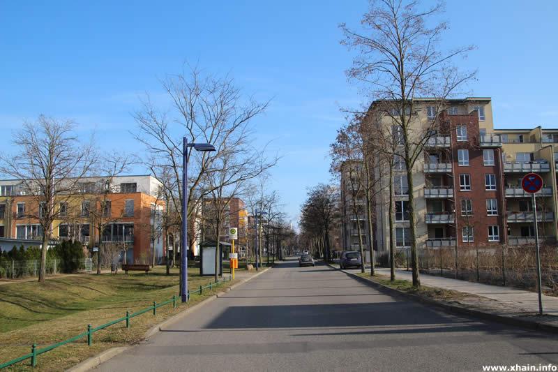 Straße Fischzug Ecke Krachtstraße (Bushaltestelle)