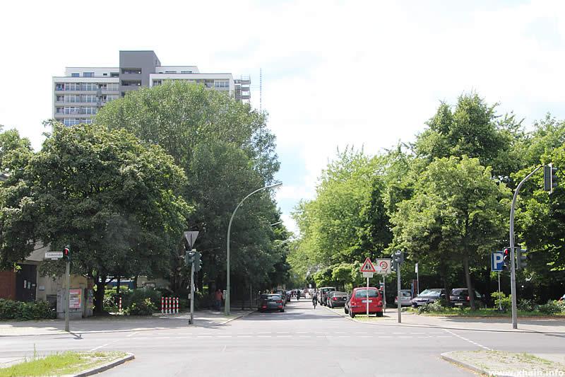 Franz-Klühs-Straße Ecke Lindenstraße