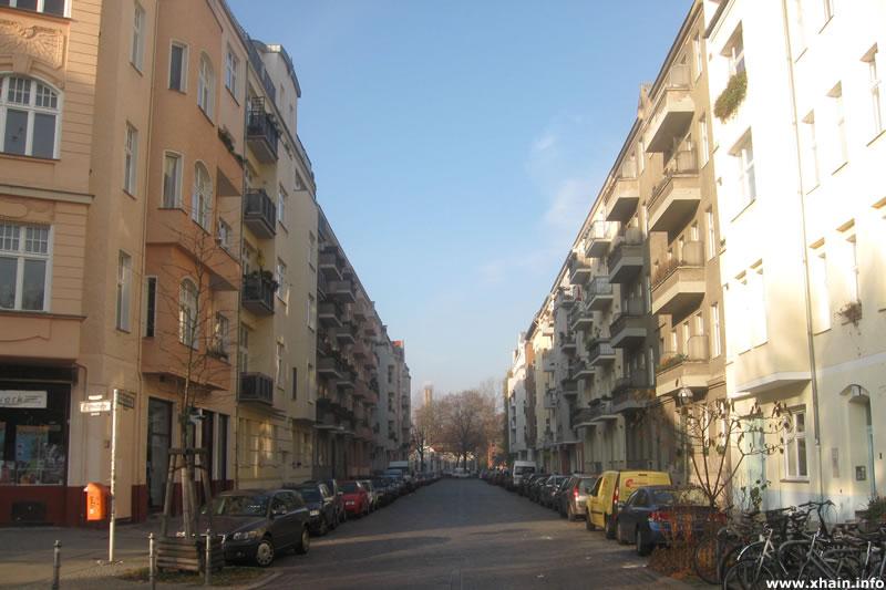 Freiligrathstraße, Blickrichtung Fontanepromenade