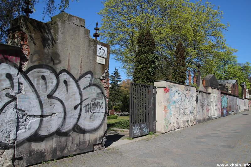 Friedhöfe vor dem Halleschen Tor - Eingang Zossener Straße