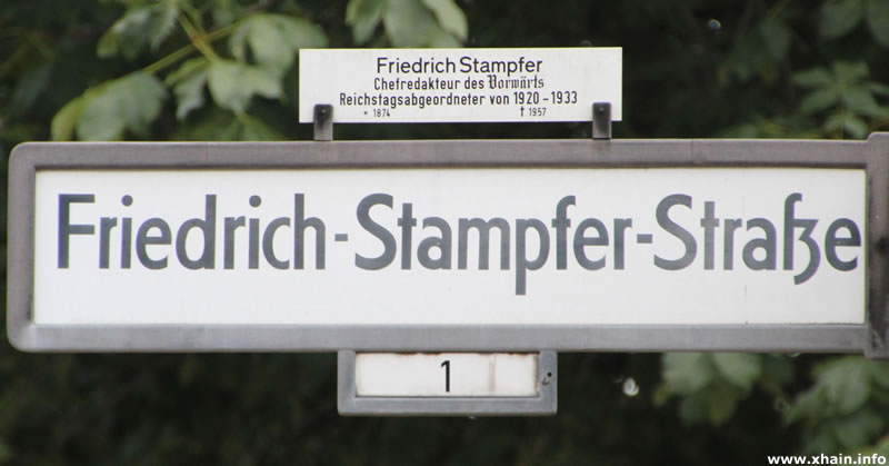 Friedrich-Stampfer-Straße