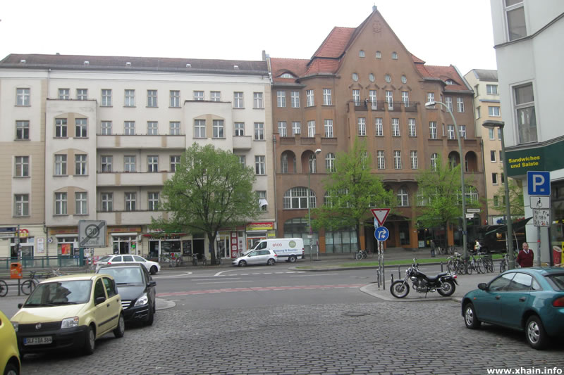 Gabelsbergerstraße Ecke Frankfurter Allee (2012)