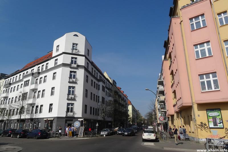Gärtnerstraße Ecke Simplonstraße (Eisdiele)