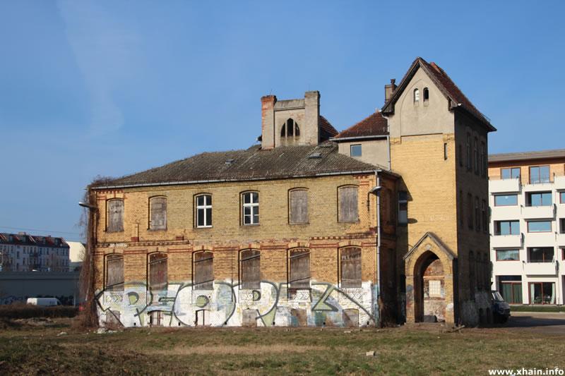 Zentralbüro der Stralauer Glashütte