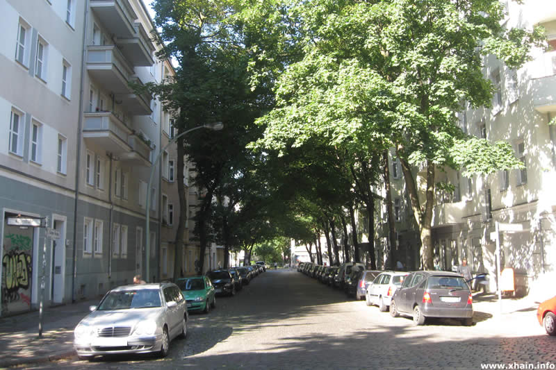Glatzer Straße, Ecke Weserstraße