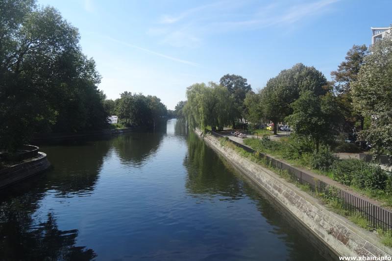 Landwehrkanal am Görlitzer Ufer