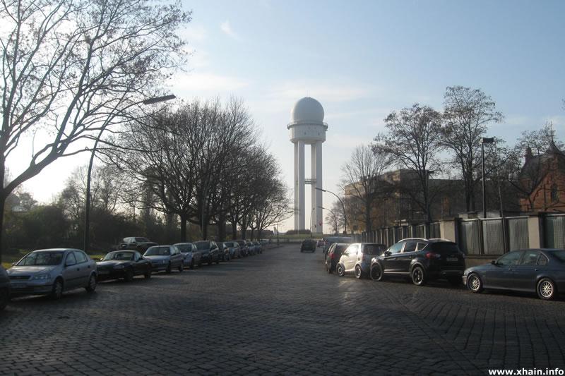 Golßener Straße / Radarturm