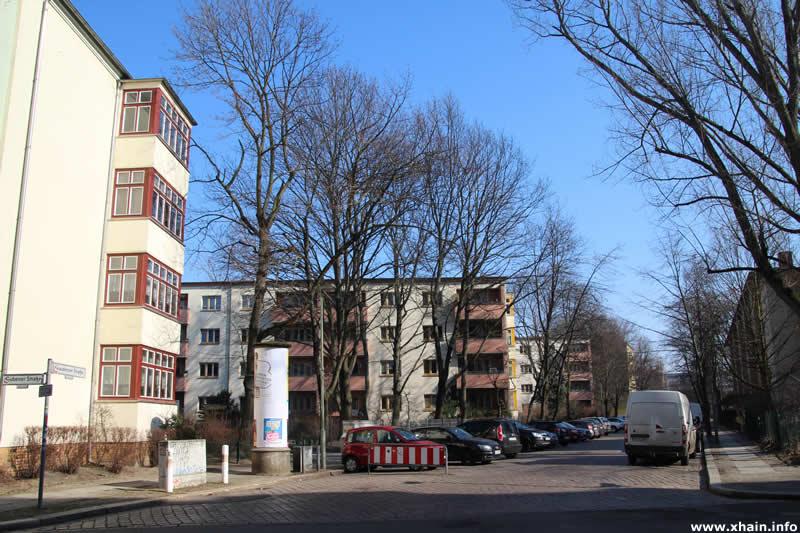 Graudenzer Straße Ecke Gubener Straße