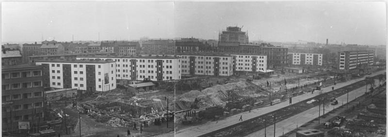 Graudenzer Straße / Karl-Marx-Allee 1952