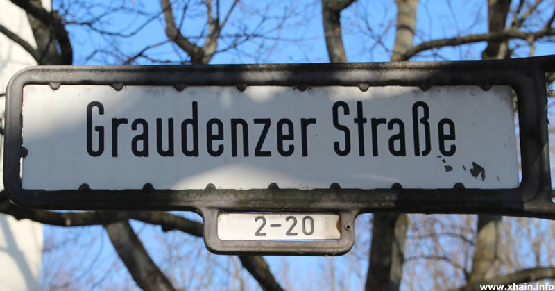 Graudenzer Straße