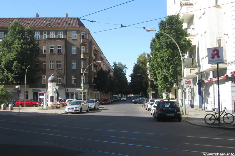Gryphiusstraße Ecke Boxhagener Straße