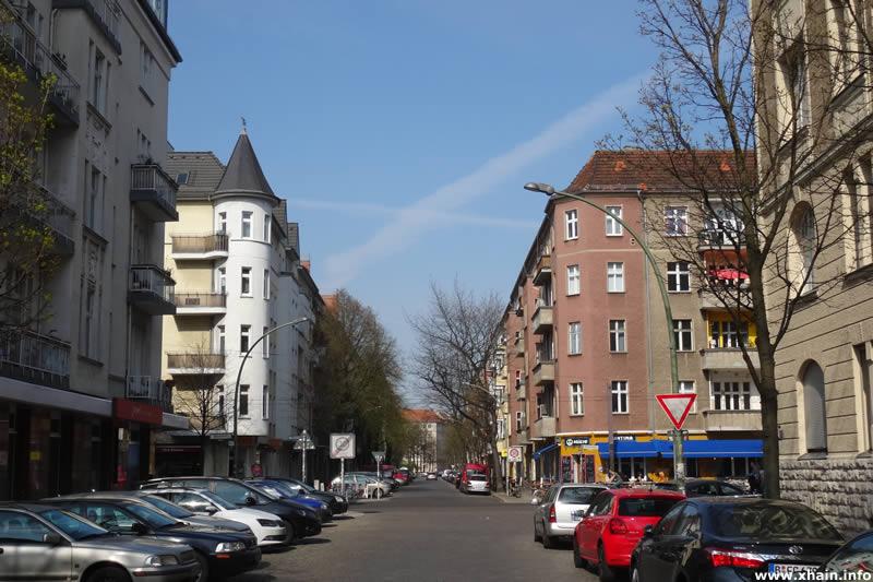 Gryphiusstraße Ecke Wühlischstraße