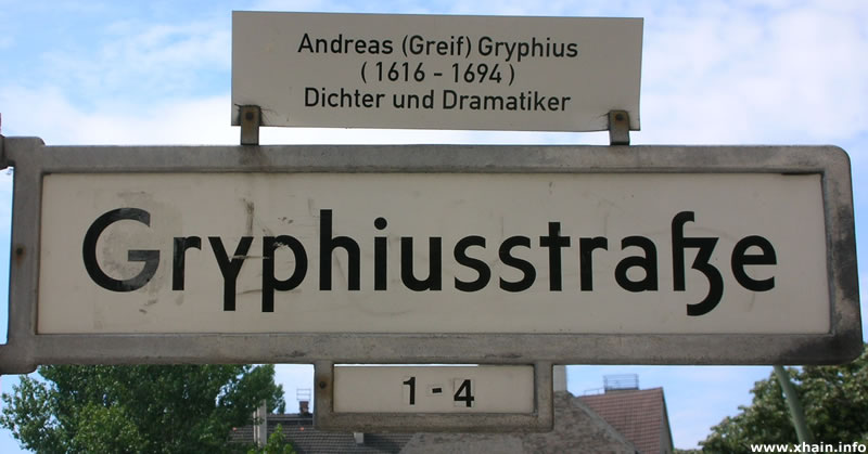 Gryphiusstraße