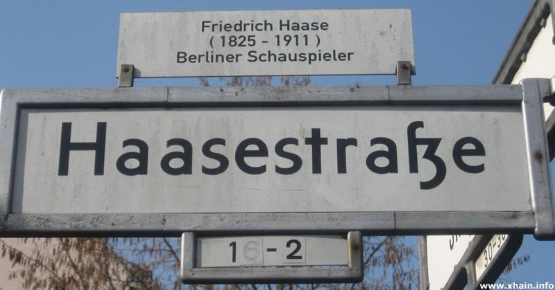Haasestraße