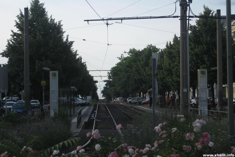 Straßenbahnhaltestelle Bersarinplatz (Tram M10)
