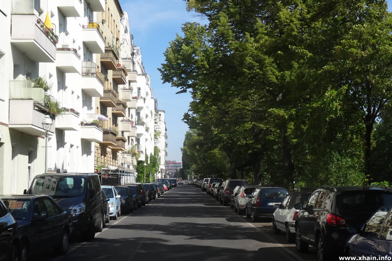 Heckmannufer, Blickrichtung Schlesische Straße