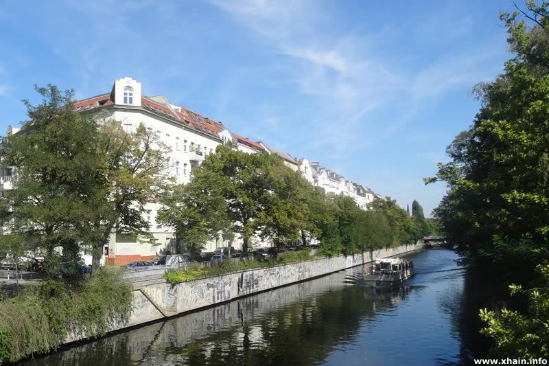 Heckmannufer am Landwehrkanal