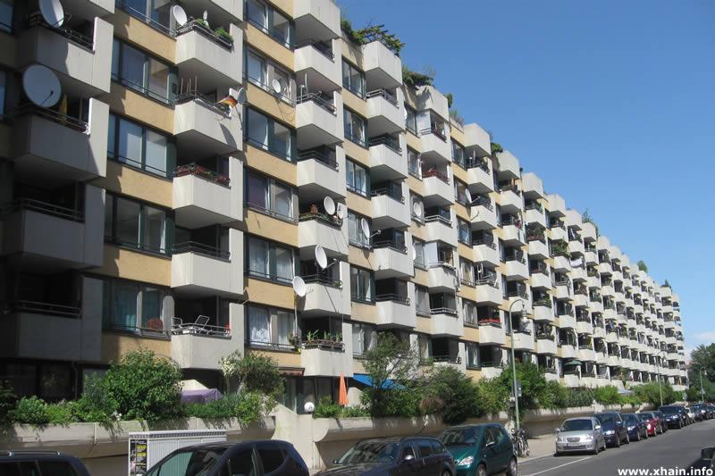 Wohnblock Hedemannstraße 21-24