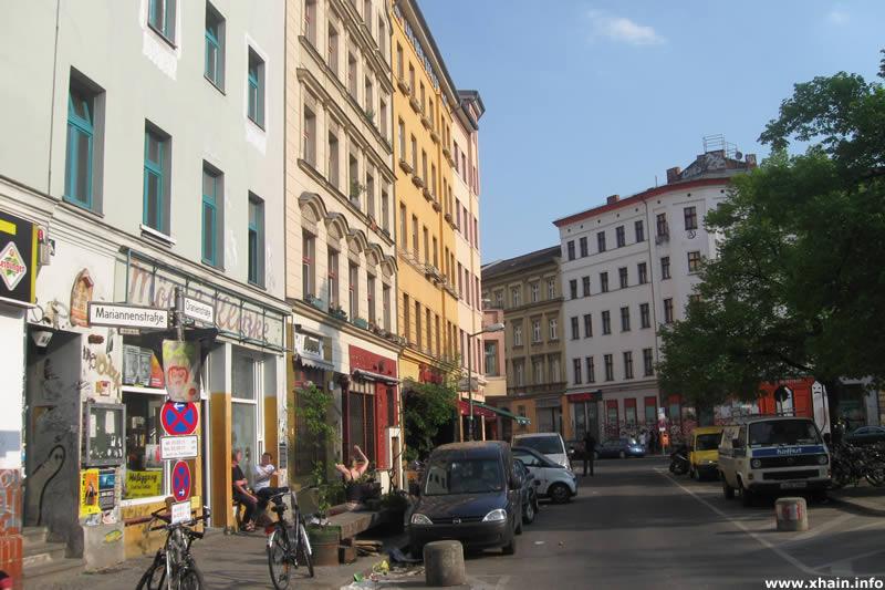 Heinrichplatz, Nordost-Seite