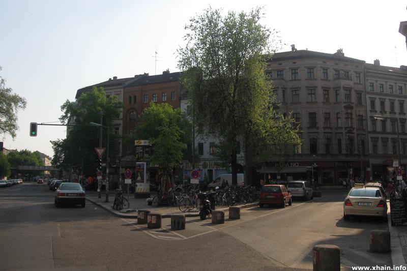 Heinrichplatz, Nordwest-Seite