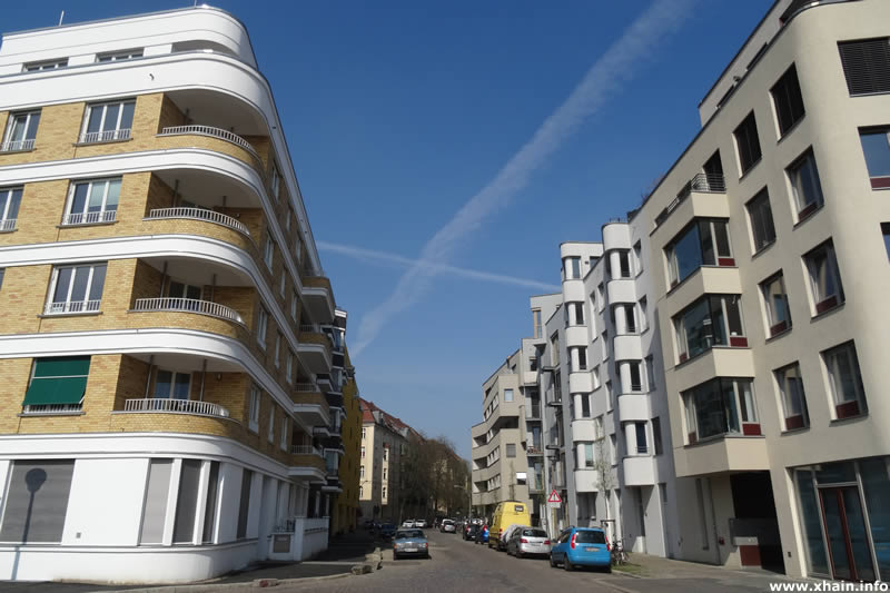 Helmerdingstraße, Blickrichtung Holteistraße