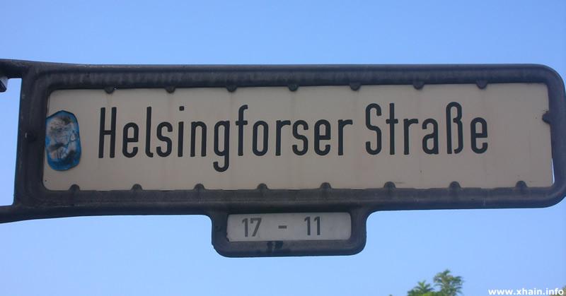 Helsingforser Straße