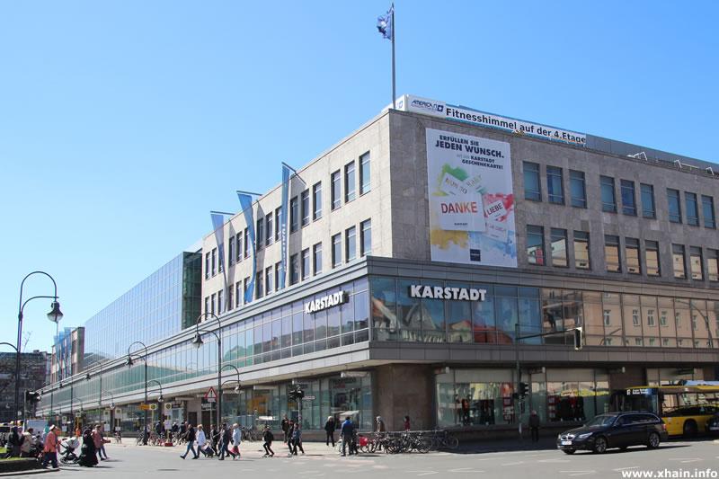 Karstadt Warenhaus am Hermannplatz Ecke Urbanstraße