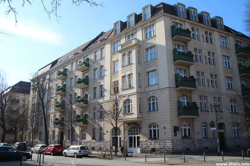 Holteistraße Ecke Sonntagstraße (Helenenhof)