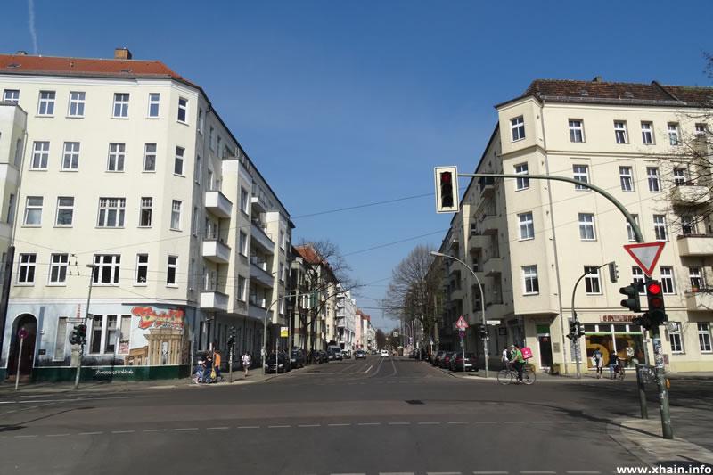 Holteistraße Ecke Wühlischstraße