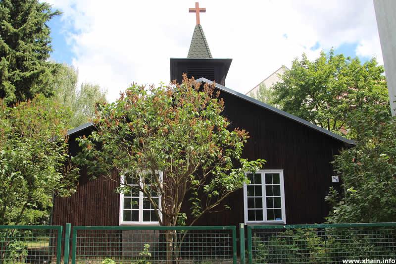 Holzkirche in der Richard-Sorge-Straße