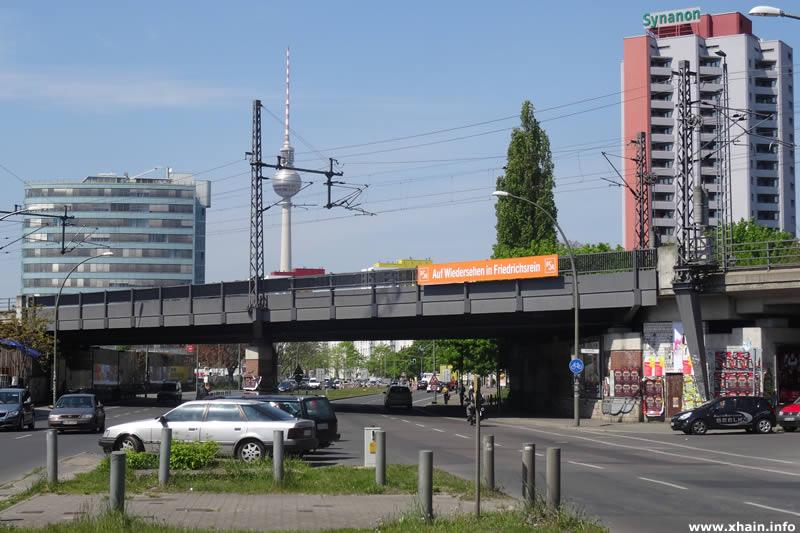 S- und Fernbahn-Überführung Holzmarktstraße