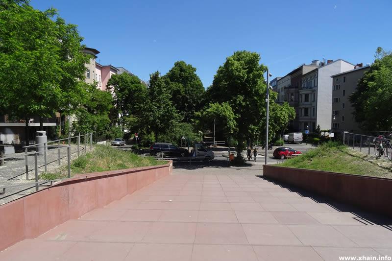 Hornstraße am Park am Gleisdreieck