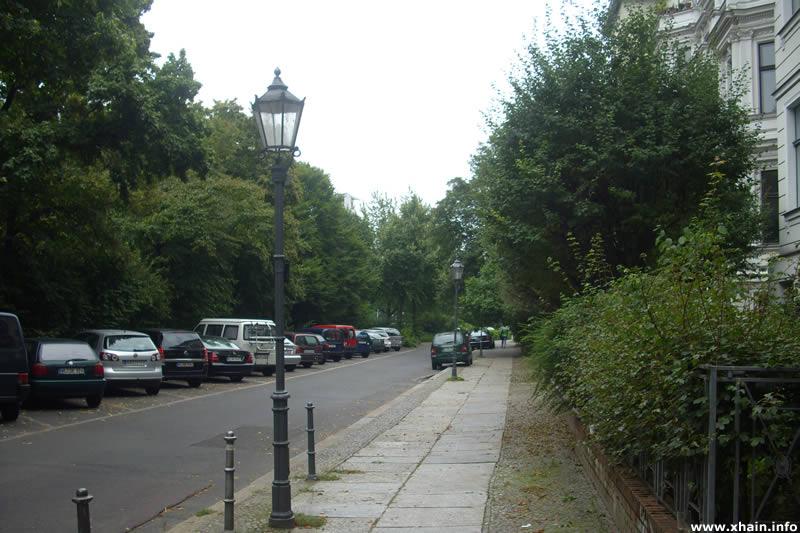Hornstraße, Blickrichtung Yorckstraße