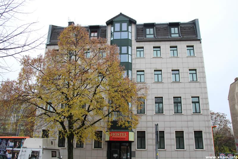 Ehemaliges Hostel Georghof, heute Flüchtlingswohnheim