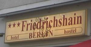 Hotel und Hostel Friedrichshain