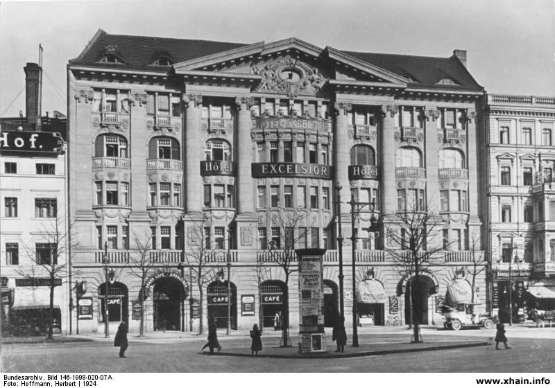 Hotel Excelsior am Anhalter Bahnhof