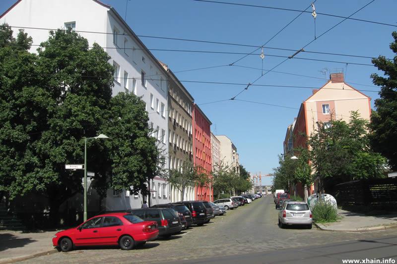 Hübnerstraße Ecke Weidenweg