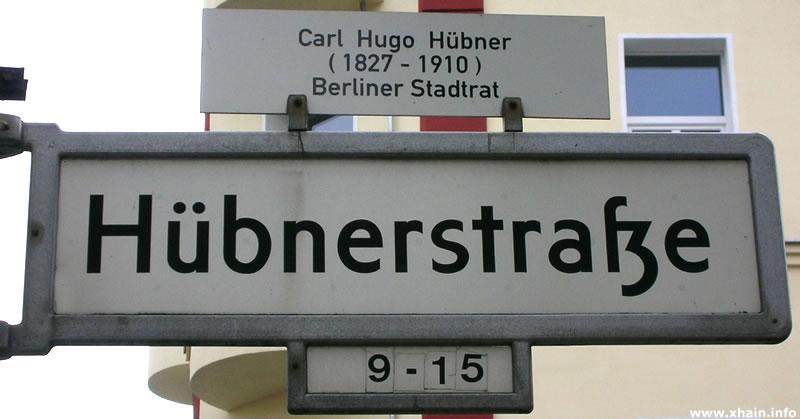 Hübnerstraße
