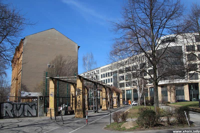 Ida-Wolff-Platz an der Großbeerenstraße