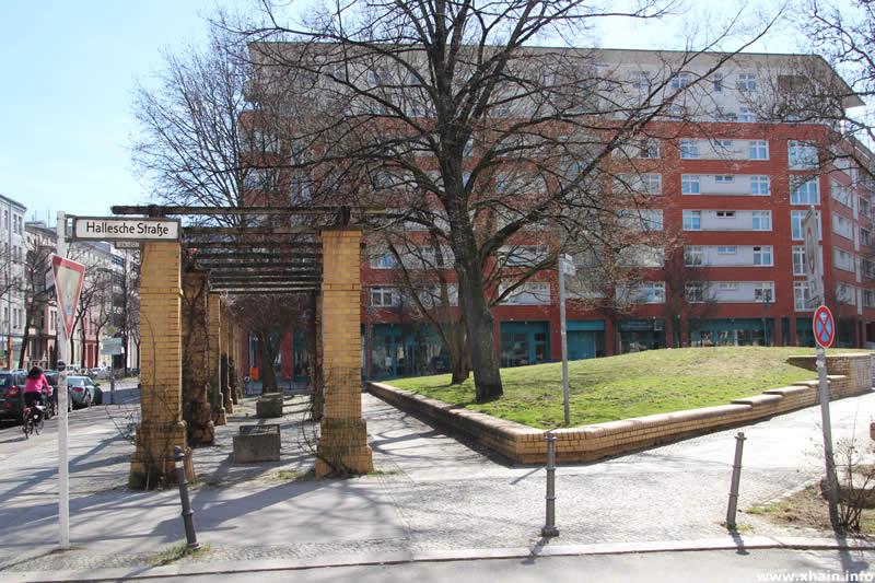 Ida-Wolff-Platz an der Halleschen Straße