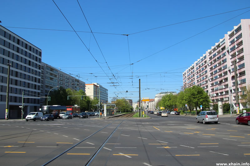 Mollstraße Ecke Otto-Braun-Straße (Mollknoten)