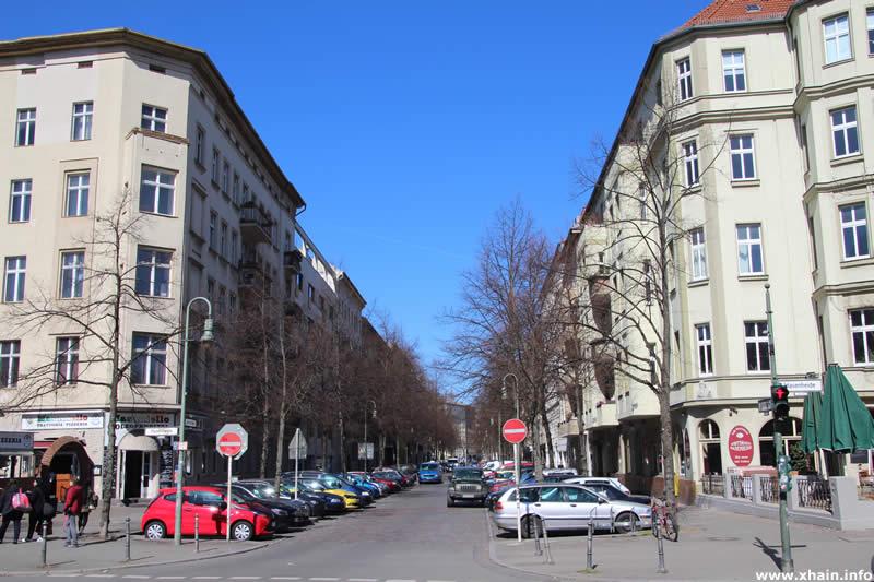 Jahnstraße Ecke Hasenheide