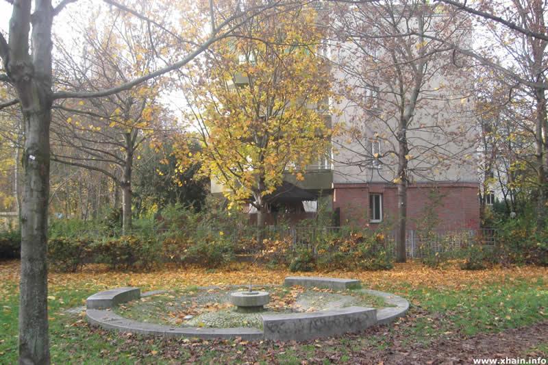 Springbrunnen in der Jakobikirchstraße