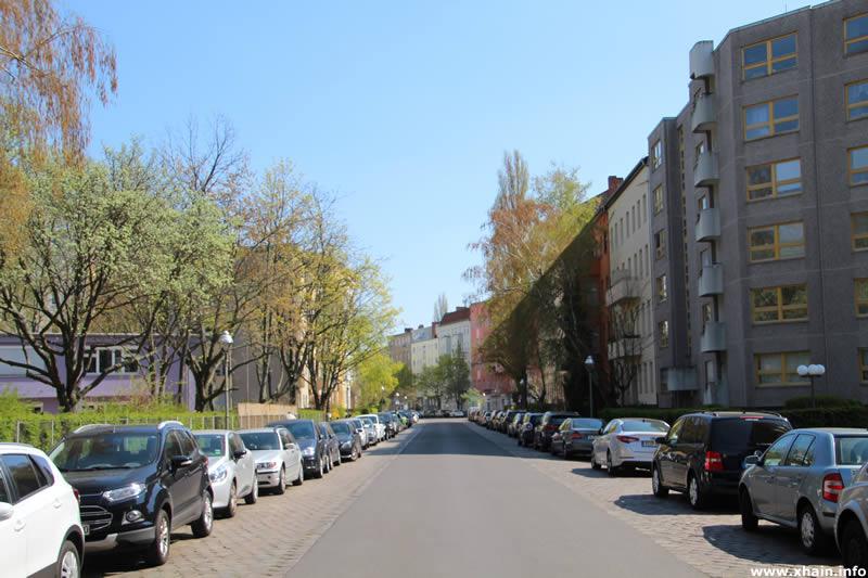 Johanniterstraße, Blickrichtung Tempelherrenstraße