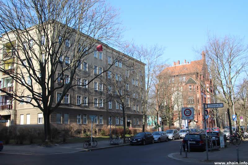 Kadiner Straße Ecke Grünberger Straße